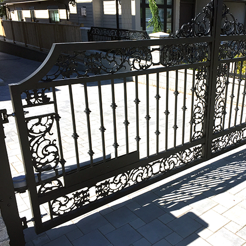 Aluminum Motorized Gate